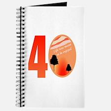 40th Birthday Gift Idea Journal