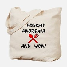 I Fought Anorexia Tote Bag