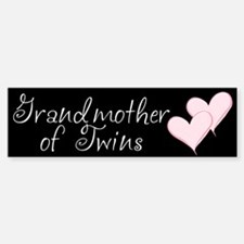 Grandmother of Twins Bumper Bumper Bumper Sticker