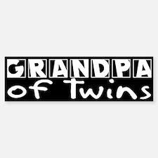 Grandpa of Twins Bumper Bumper Bumper Sticker