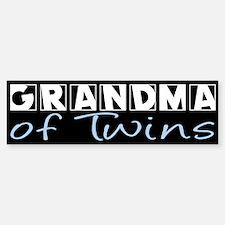Grandma of Twins Bumper Bumper Bumper Sticker
