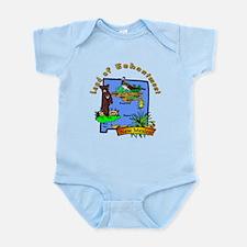 """""""New Mexico Pride"""" Infant Bodysuit"""