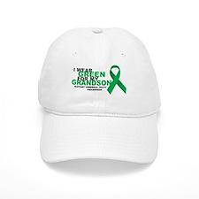 CP: Green For Grandson Baseball Baseball Cap