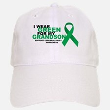 CP: Green For Grandson Baseball Baseball Cap