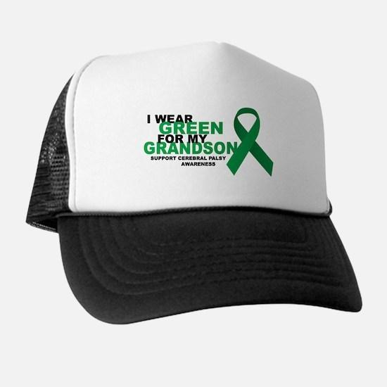 CP: Green For Grandson Trucker Hat