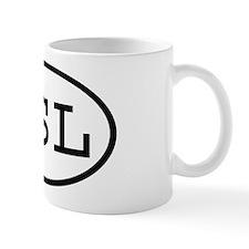 QSL Oval Mug