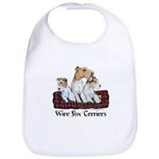 Fox Terrier Family Bib