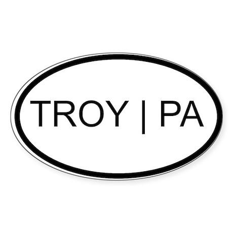 Troy Sticker