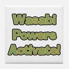 Wasabi Powers Tile Coaster
