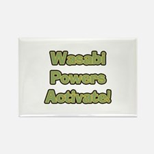 Wasabi Powers Rectangle Magnet