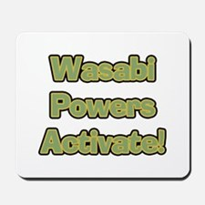 Wasabi Powers Mousepad
