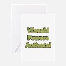 Wasabi Powers Greeting Cards (Pk of 10)
