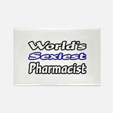 """""""World's Sexiest Pharmacist"""" Rectangle Magnet"""