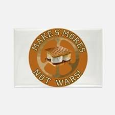 Make Smores Not Wars Rectangle Magnet