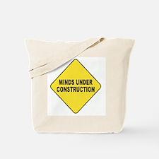 "Teacher ""under construction"" Tote Bag"