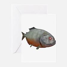 Piranha Greeting Cards (Pk of 10)