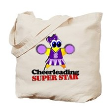 Cheerleading Super Star Tote Bag