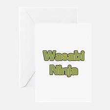 Wasabi Ninja Greeting Cards (Pk of 10)