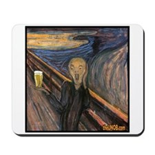 Piss Artists: Scream for Beer Mousepad