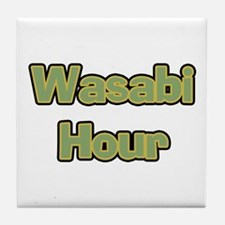 Wasabi Hour Tile Coaster