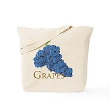 Red Wine Grapes Tote Bag