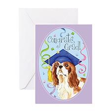 Cavalier Graduate Greeting Card