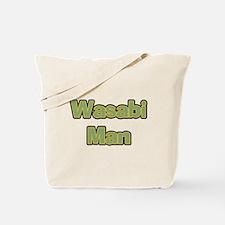 Wasabi Man Tote Bag
