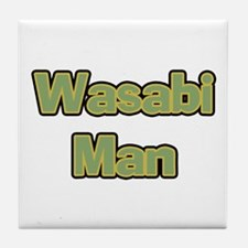 Wasabi Man Tile Coaster