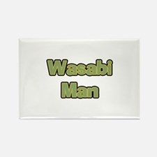 Wasabi Man Rectangle Magnet