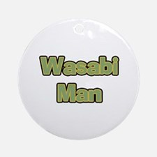Wasabi Man Ornament (Round)