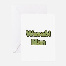 Wasabi Man Greeting Cards (Pk of 10)
