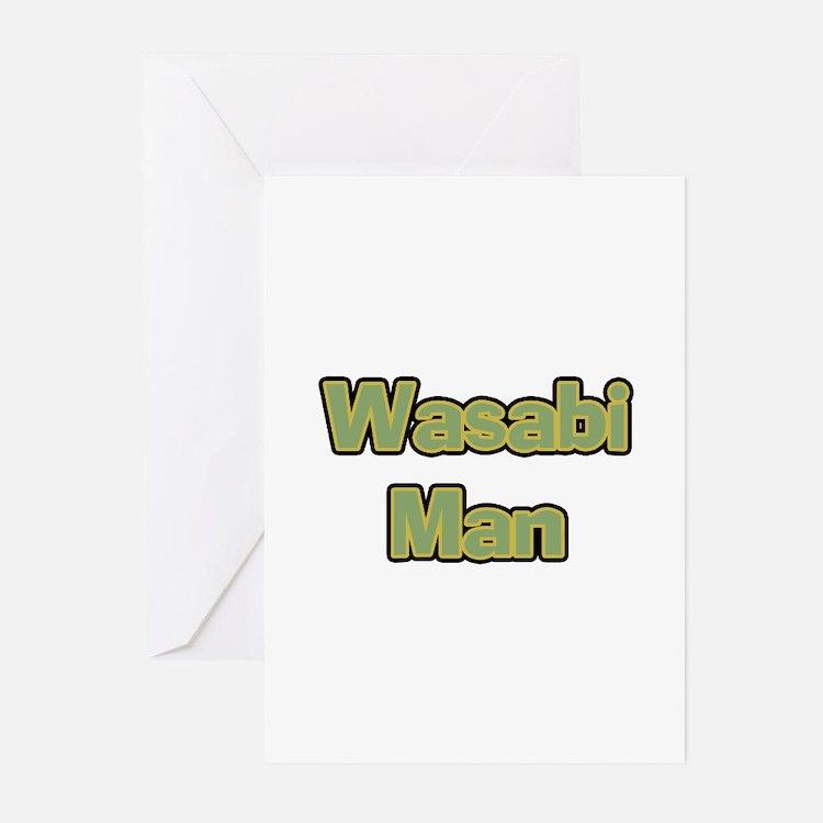 Wasabi Man Greeting Cards (Pk of 10)