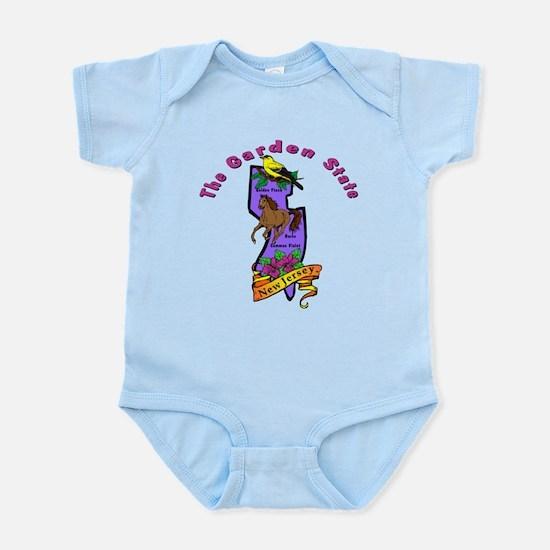 """New Jersey Pride"" Infant Bodysuit"
