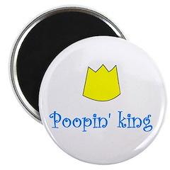 POOPIN' KING Magnet
