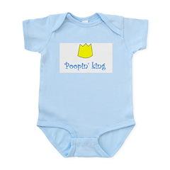 POOPIN' KING Infant Bodysuit