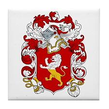 Grace Family Crest Tile Coaster