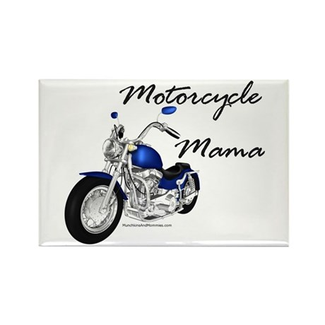 Motorcycle Mama Rectangle Magnet