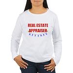 Retired Real Estate Appraiser Women's Long Sleeve