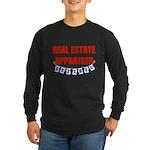 Retired Real Estate Appraiser Long Sleeve Dark T-S
