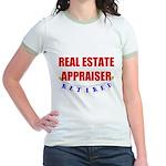 Retired Real Estate Appraiser Jr. Ringer T-Shirt