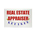 Retired Real Estate Appraiser Rectangle Magnet