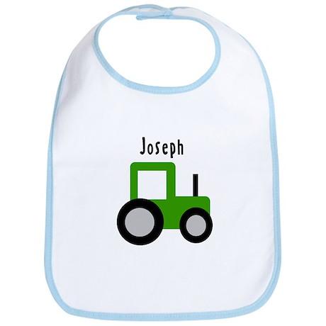 Joseph - Green Tractor Bib