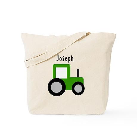 Joseph - Green Tractor Tote Bag