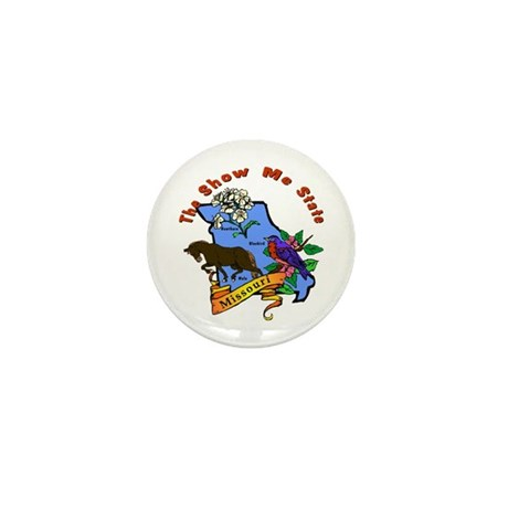 """Missouri Pride"" Mini Button (10 pack)"