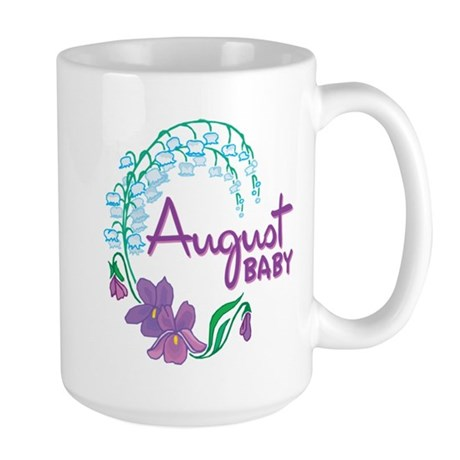 AUGUST BABY Large Mug