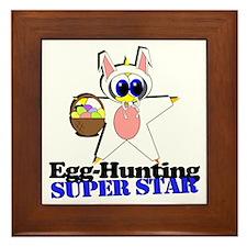 Easter Super Star Framed Tile