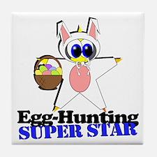 Easter Super Star Tile Coaster