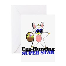 Easter Super Star Greeting Card