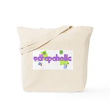 Scrapaholic Tote Bag