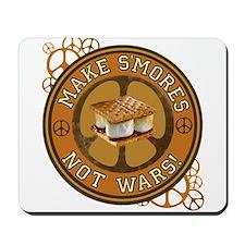 Make Smores Not Wars Mousepad